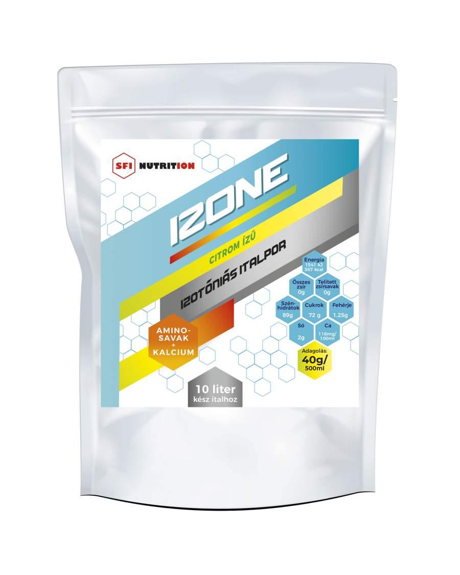 IZONE izotóniás italpor glutaminnal, citrom ízű