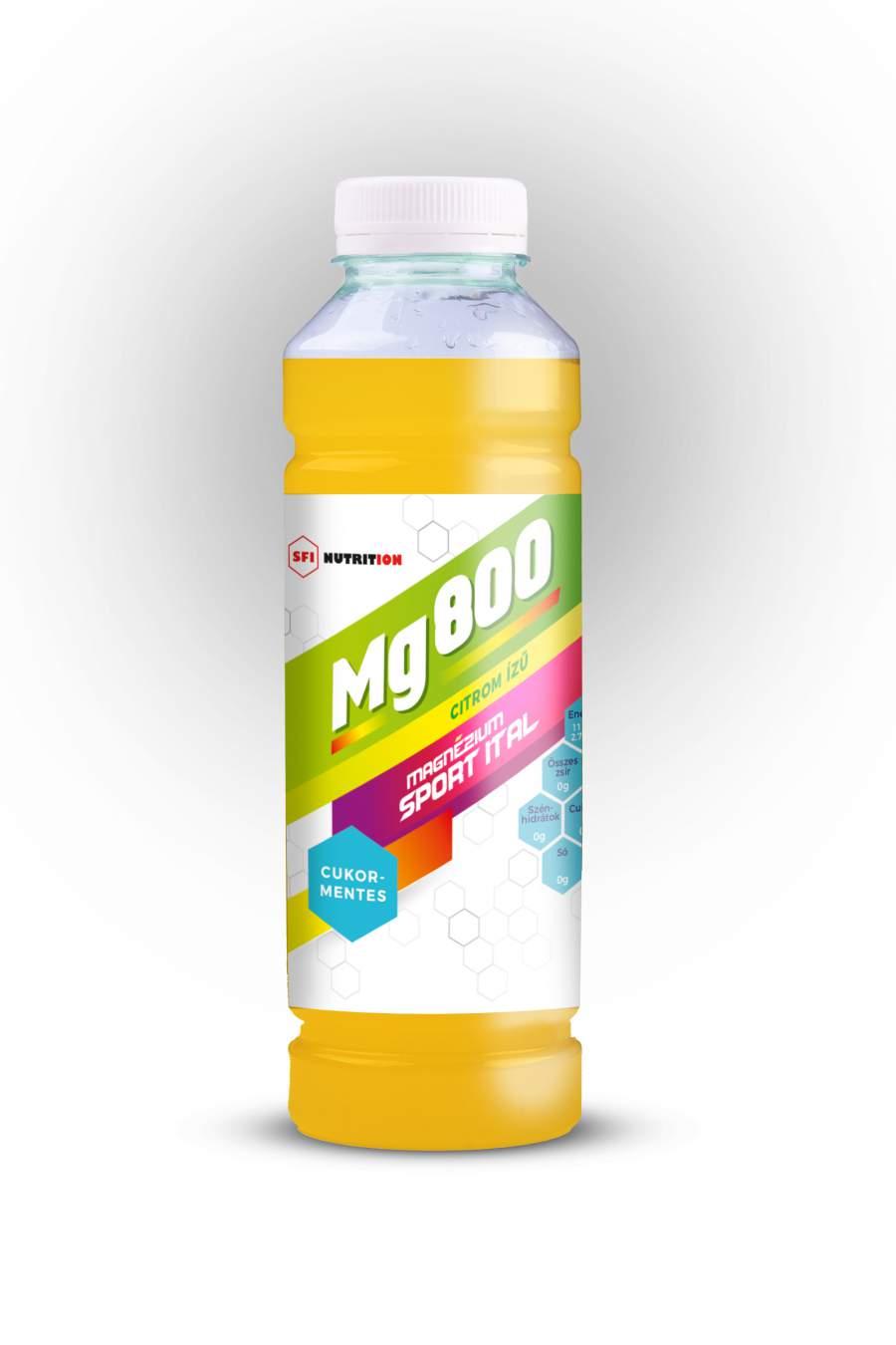Cukormentes Mg 800 magnézium tartalmú sportital