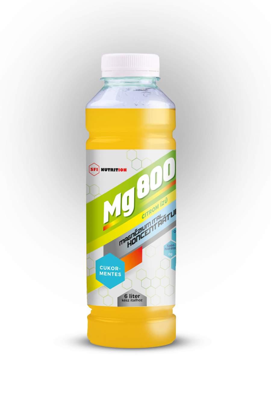 Mg 800 szteviával édesített magnézium koncentrátum narancsos izű